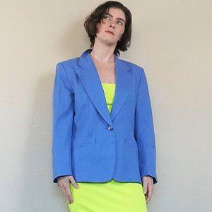 Blue Vintage Pendleton Wool Blazer